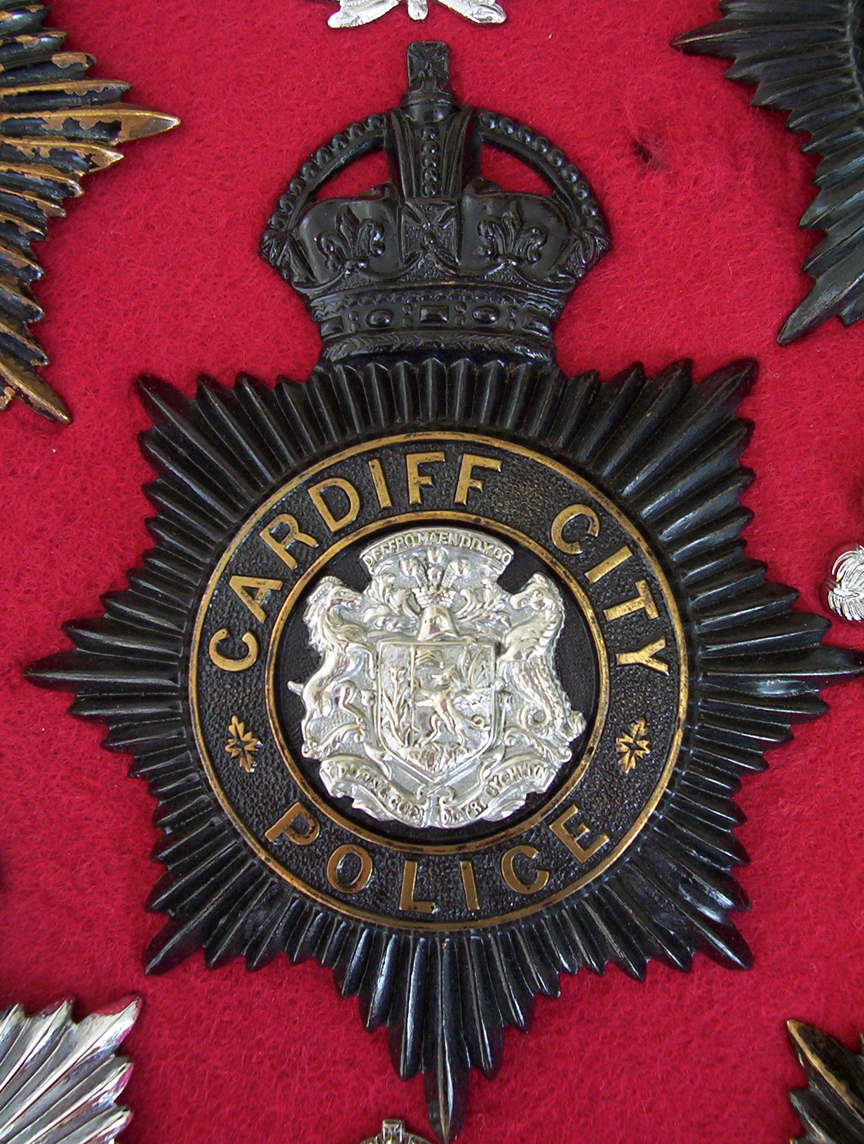 Wales badges Police of