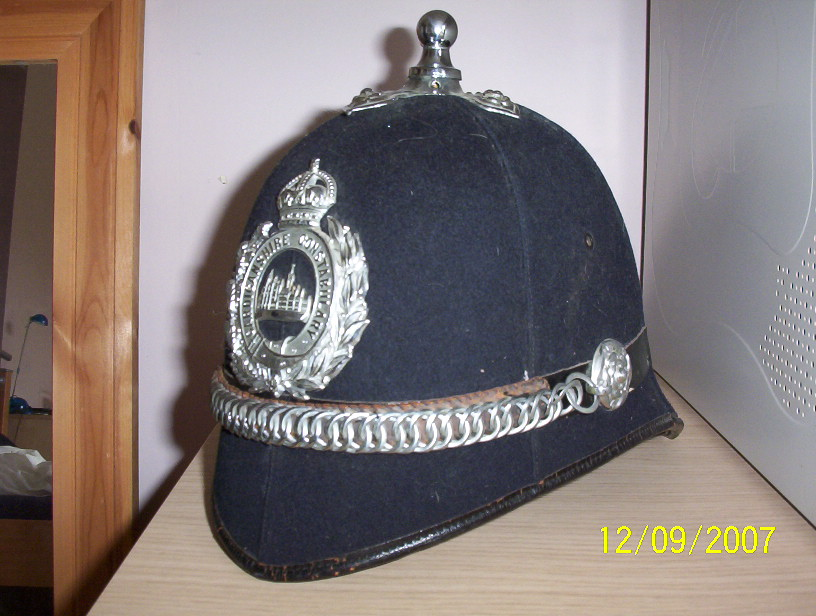 British Police Helmet